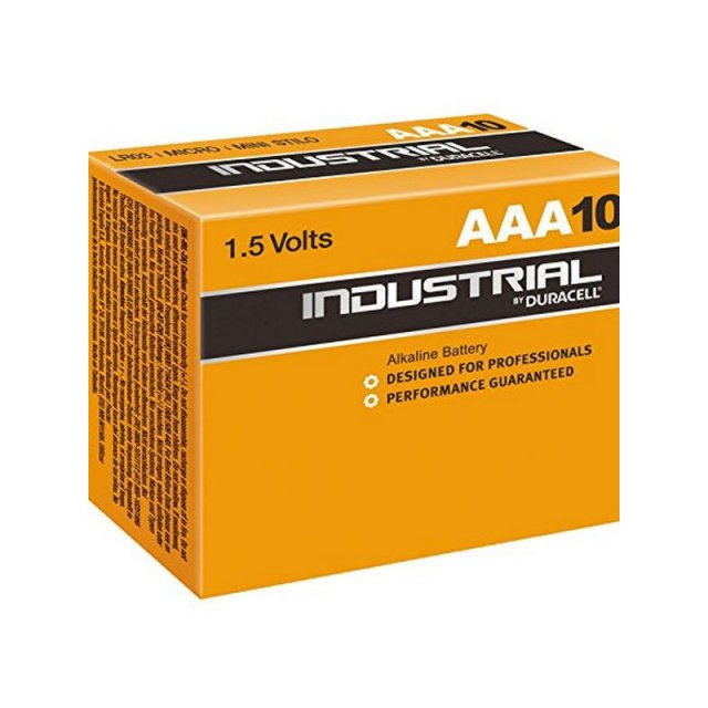 DURACELL INDUSTRIAL AAA 10ST